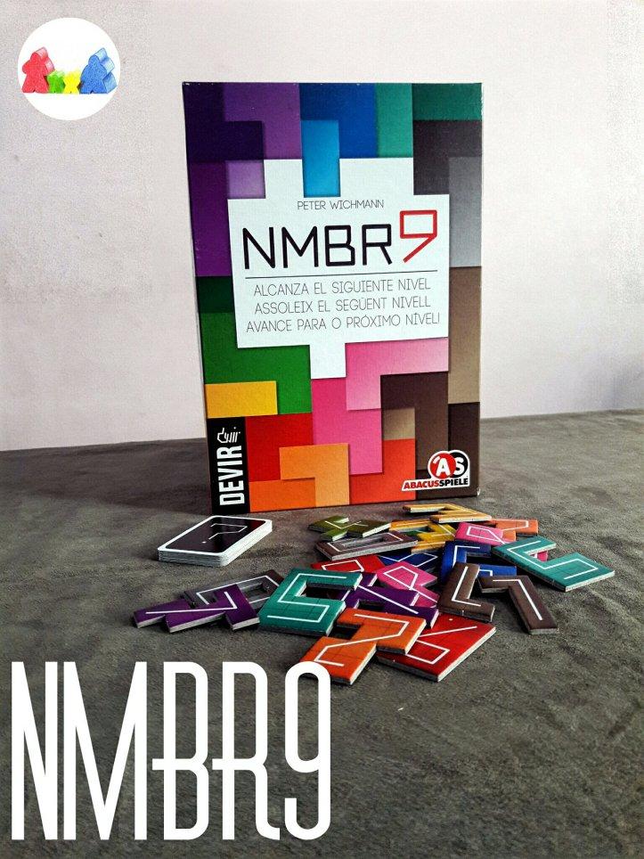 Jogo de tabuleiro NMBR9