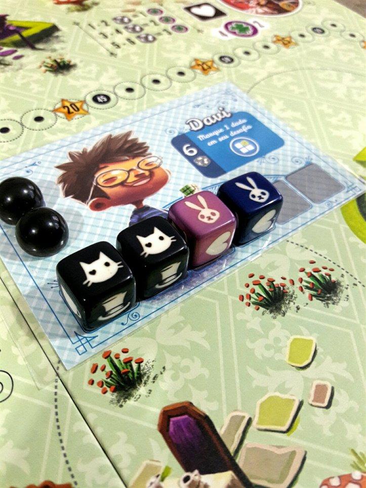 Personagens com habilidades únicas jogo Sonhando com Alice