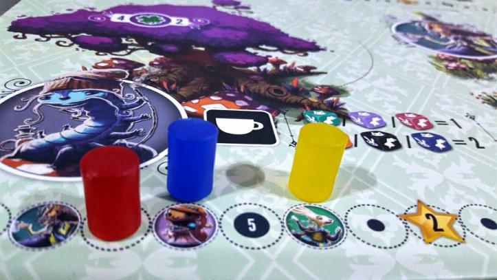 Bônus Trilha da lagarta jogo de tabuleiro Sonhando com Alice