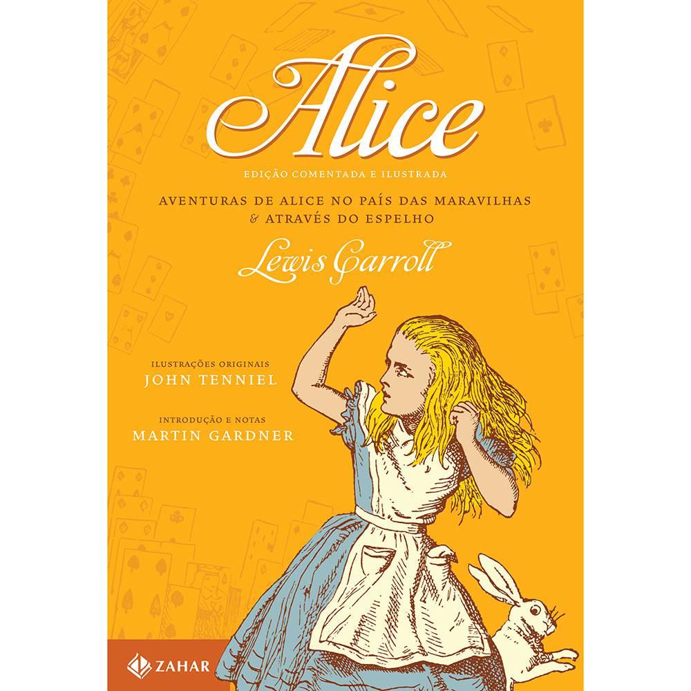 Livro Alice no Pais das Maravilhas
