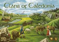 Jogo de tabuleiro Clans of Caledonia