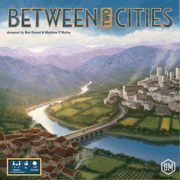 Caixa jogo Between Two Cities