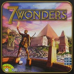 Caixa jogo 7 Wonders