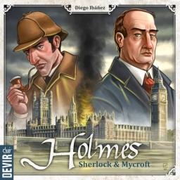 Jogo de tabuleiro para 2 jogadores, Holmes: Sherlock & Mycroft