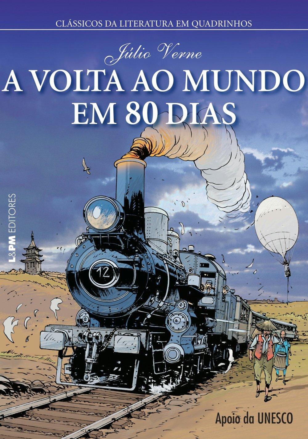 Livro Volta ao Mundo em 80 Dias