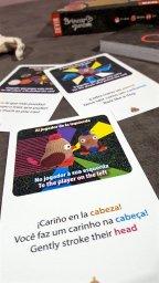 Cartas jogo infantil Brincar+Juntos