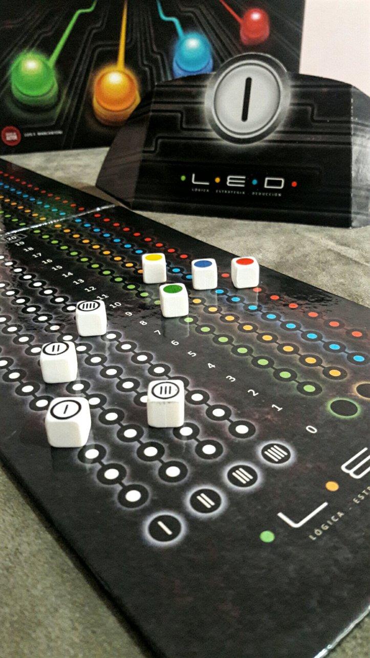 Tabuleiro de pontuação jogo de tabuleiro LED