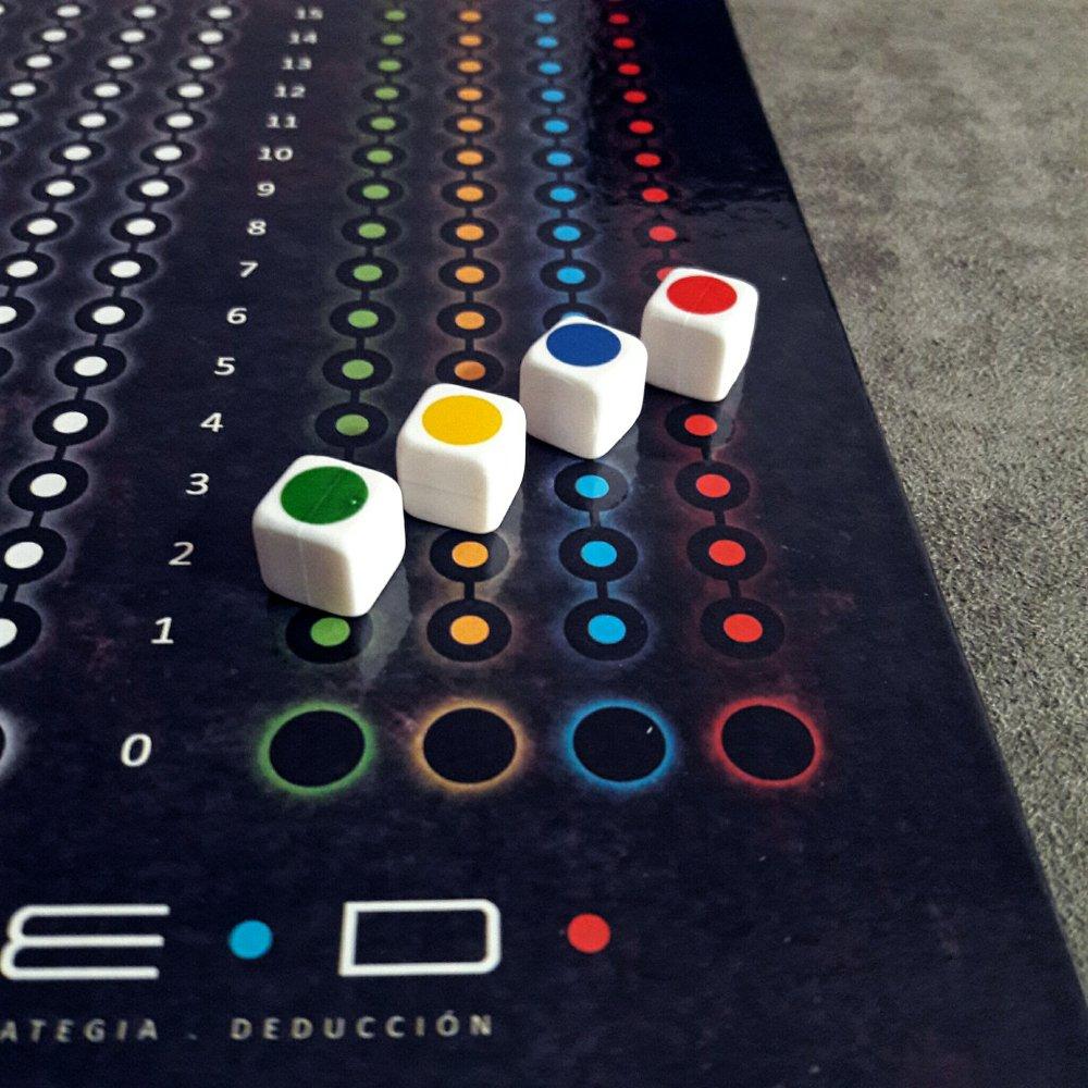 Trilha de cores jogo de tabuleiro LED