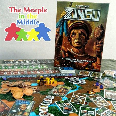 Jogo de tabuleiro Xingu