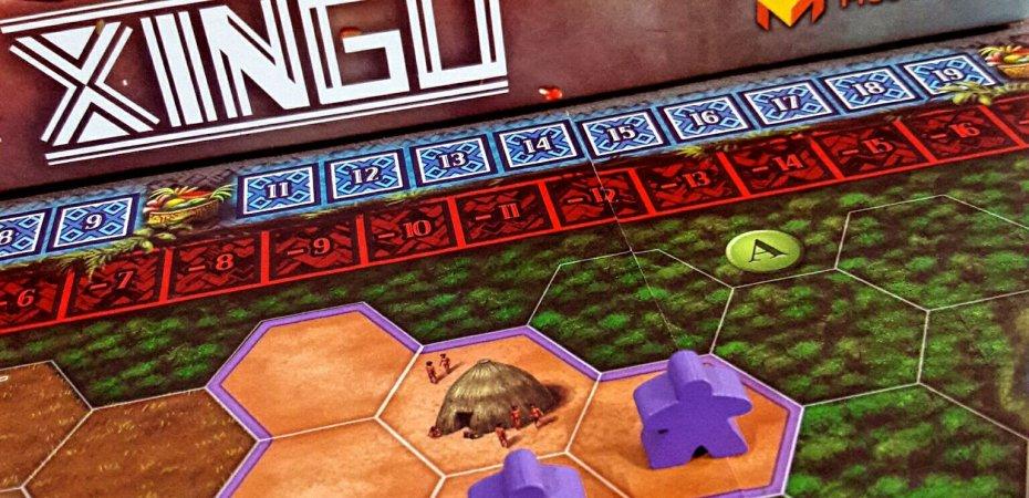 Aldeia jogo de tabuleiro Xingu