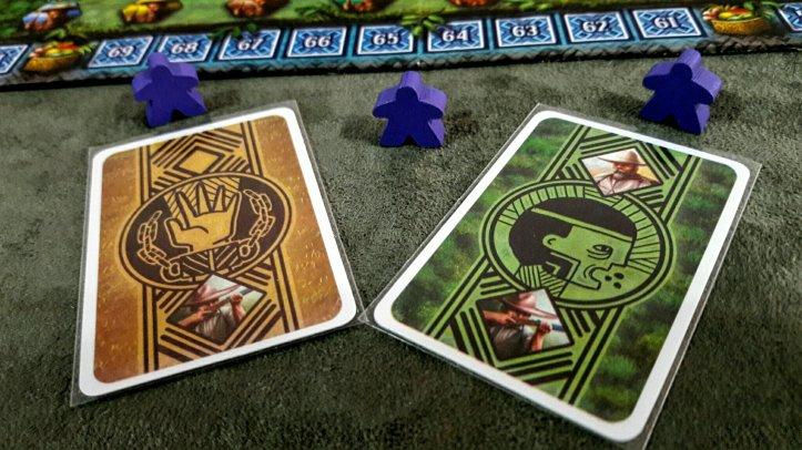 Cartas Recursos jogo de tabuleiro Xingu