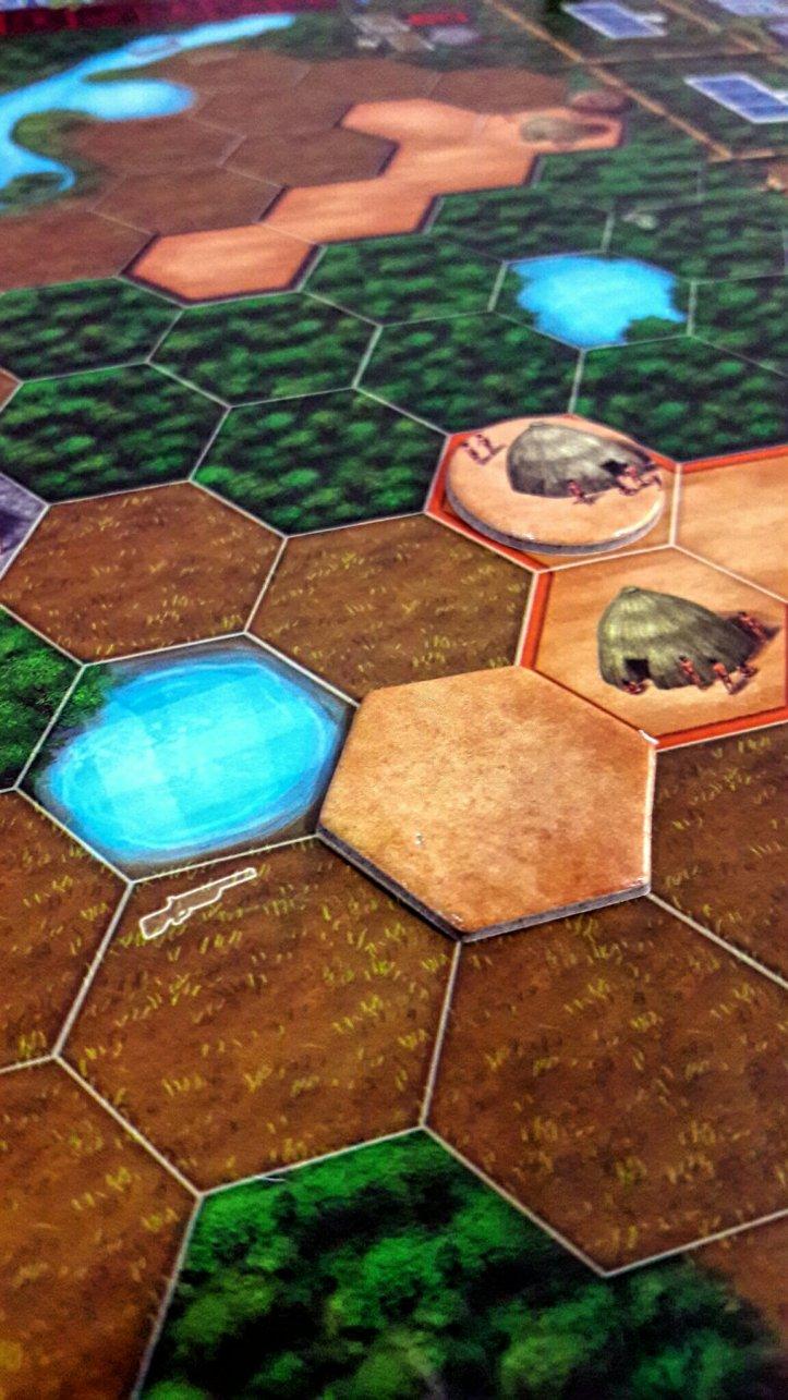 Expansão aldeia jogo de tabuleiro Xingu