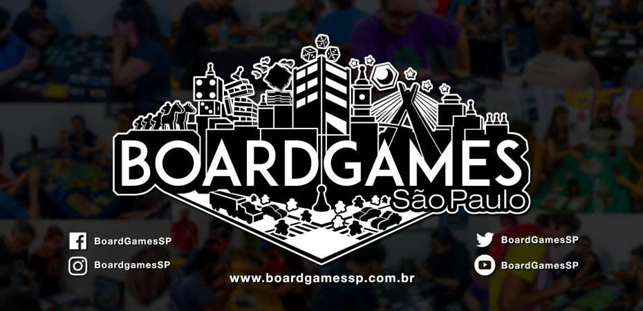Evento de jogos de tabuleiro Boardgames São Paulo