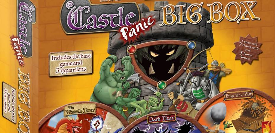Fireside Games anuncia a versão Big Box do Castle Panic