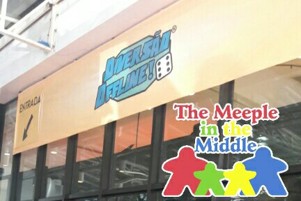 A cobertura do The Meeple in the Middle no Diversão Offline 2019