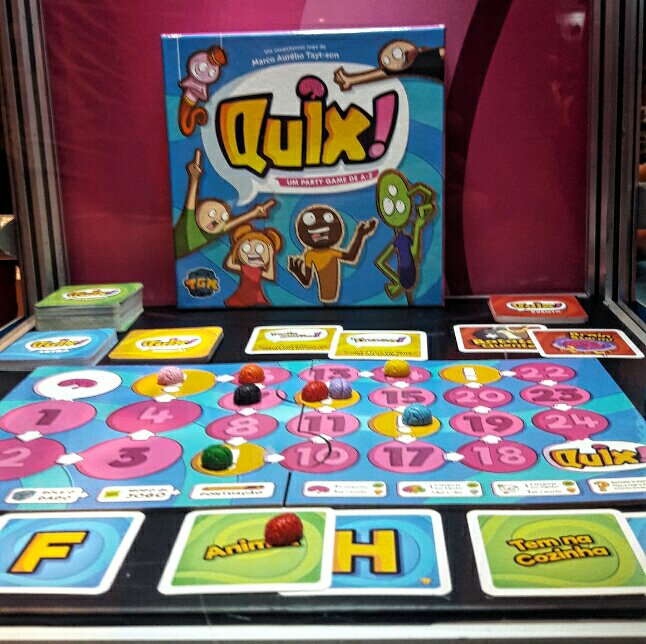 Jogo de tabuleiro Quix