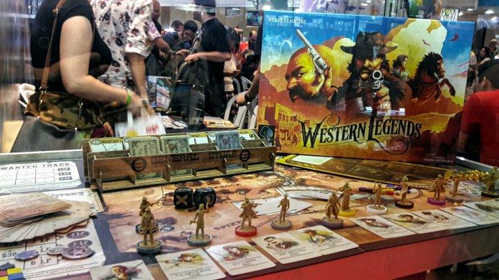Jogo de tabuleiro Western Legends