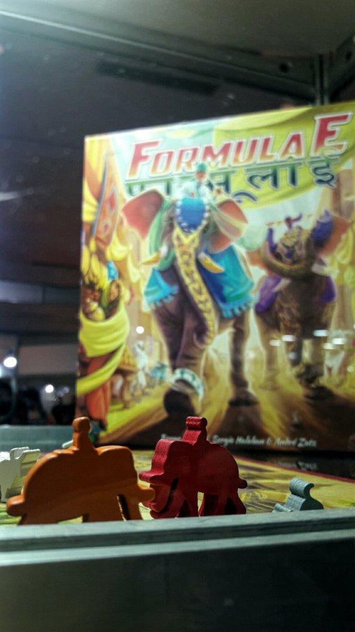 Jogo de tabuleiro Formula E