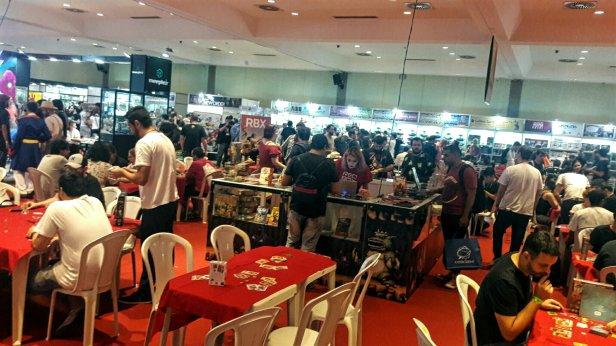 Evento de jogos de tabuleiro Diversão Offline 2019