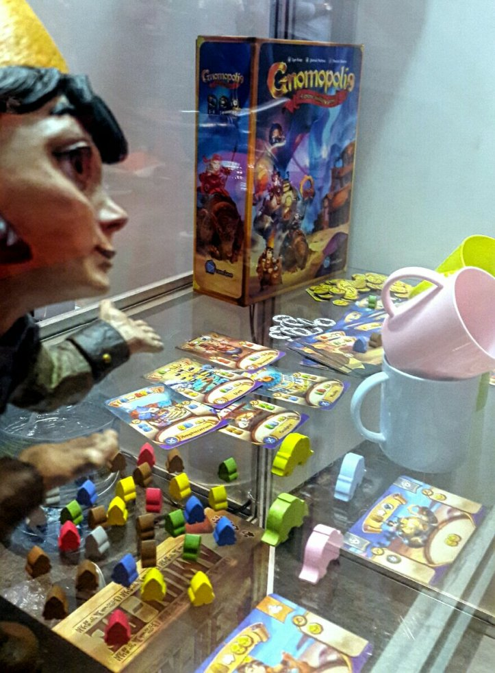 Jogo de tabuleiro Gnomopolis