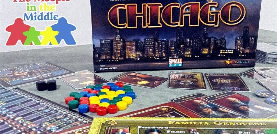 Jogo de tabuleiro Chicago