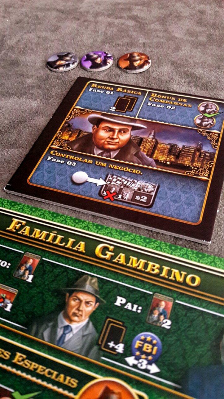 Al Capone no jogo de tabuleiro Chicago