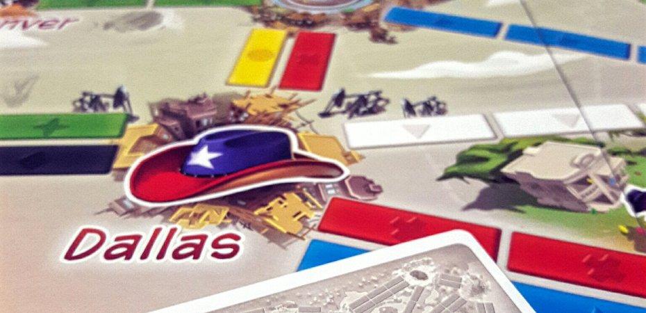 Rotas do jogo de tabuleiro infantil Ticket to Ride First Journey