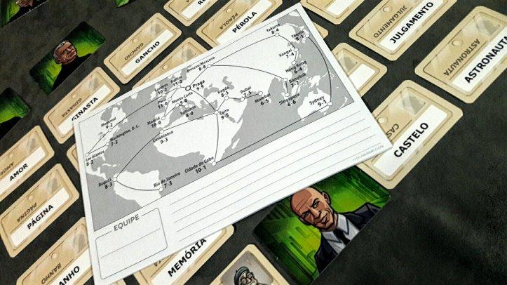 Mapa de missões do jogo Código Secreto Dueto
