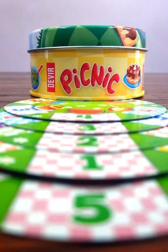Jogo de tabuleiro Picnic