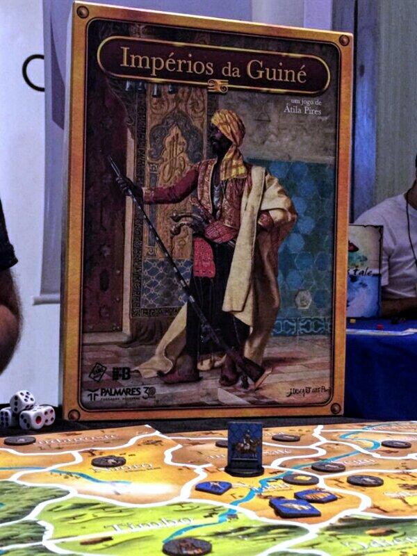 Jogo de tabuleiro Impérios da Guiné