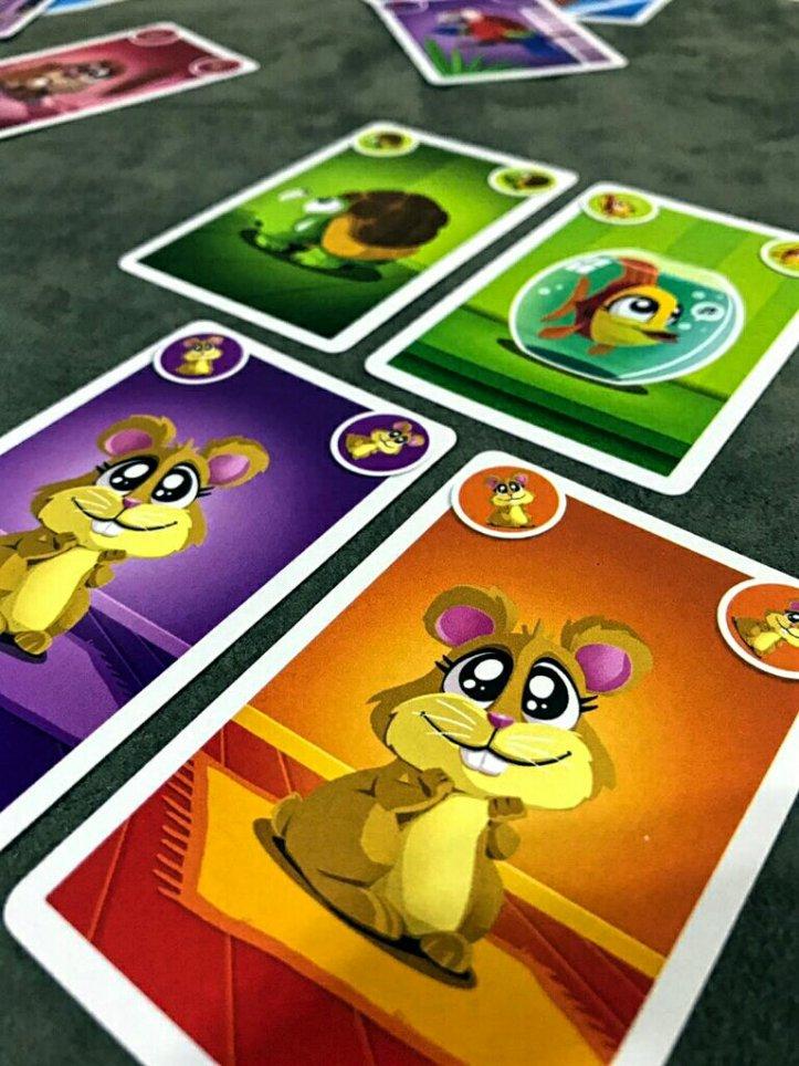 Animais no jogo infantil Quem Foi?