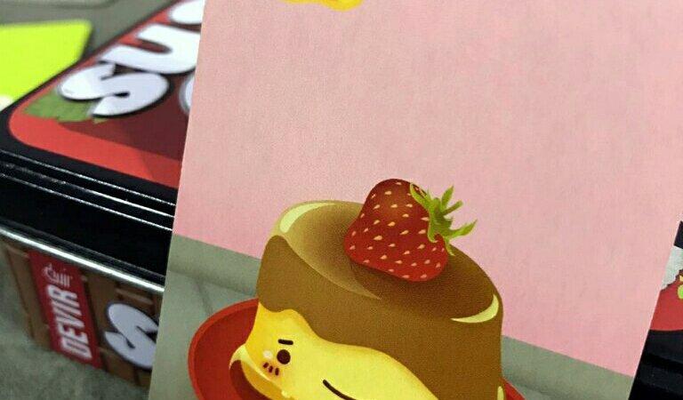 A carta pudim faz toda diferença no jogo de cartas Sushi Go!
