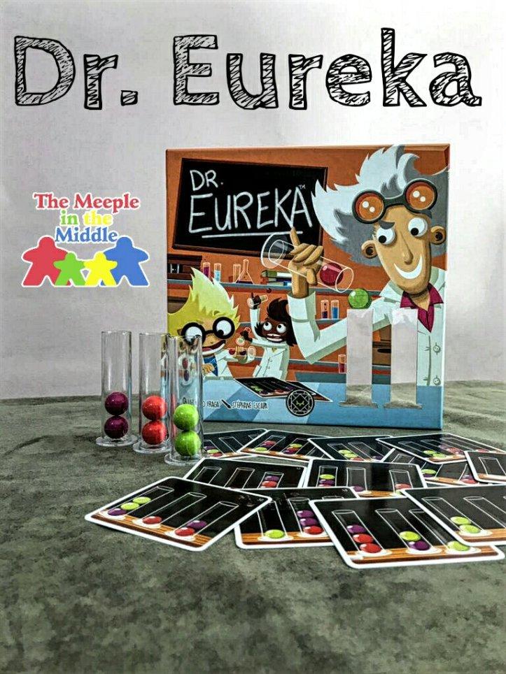 Jogo de tabuleiro infantil Dr. Eureka