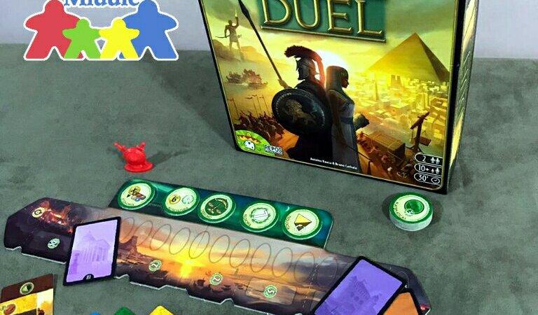 Jogo de tabuleiro 7 Wonders Duel