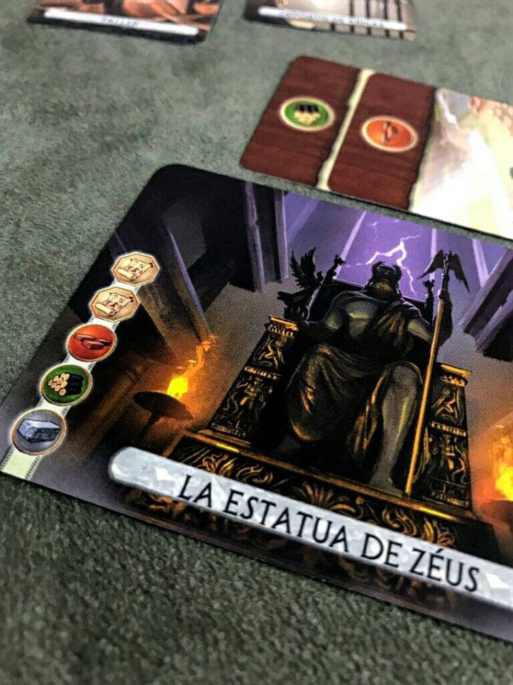 Carta de maravilha do jogo 7 Wonders Duel