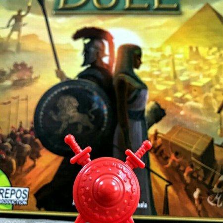 Marcador militar jogo 7 Wonders Duel