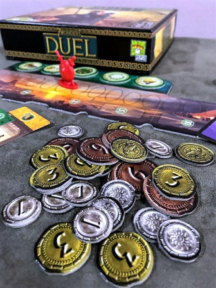 Dinheiro do jogo 7 Wonders Duel