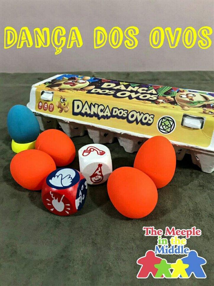 Jogo infantil a Dança dos Ovos