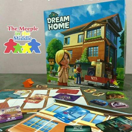 Jogo de tabuleiro Dream Home