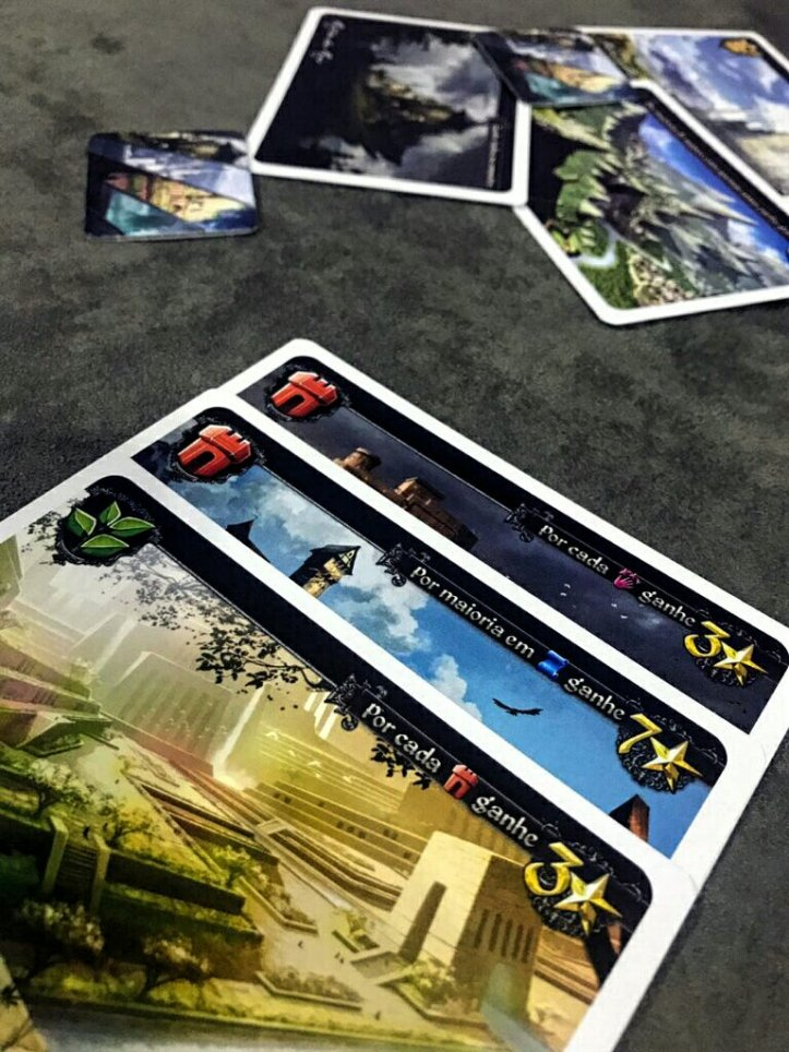 Cartas do jogo Tides of Time