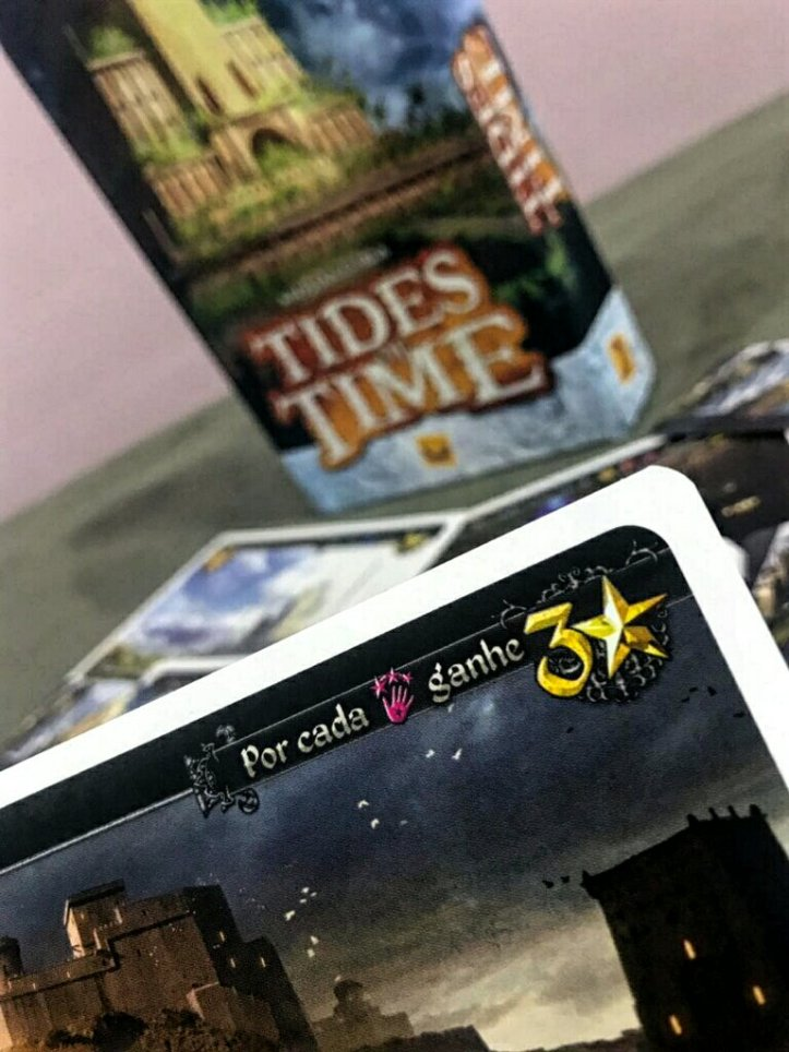Exemplo de carta do jogo Tides of Time