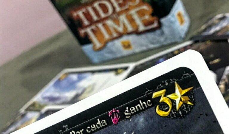 Exemplo de carta do jogo Tides of Time