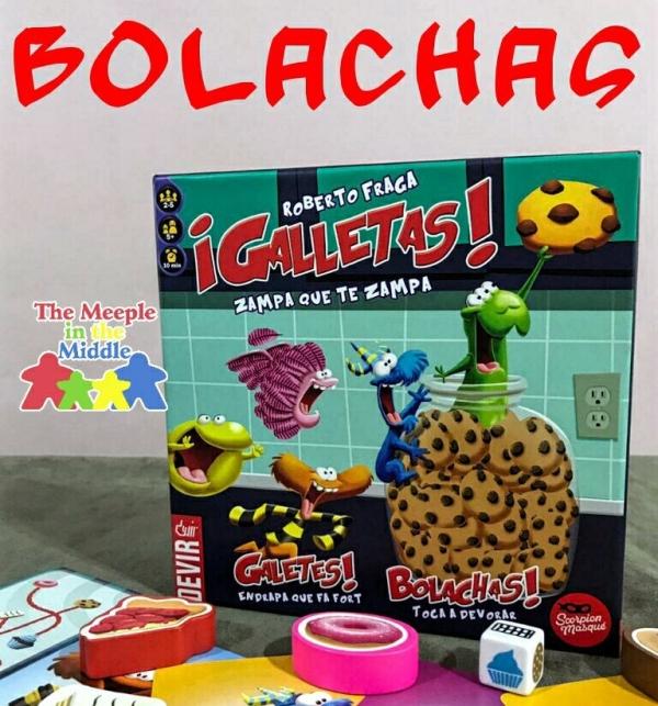 Jogo de tabuleiro infantil Bolachas