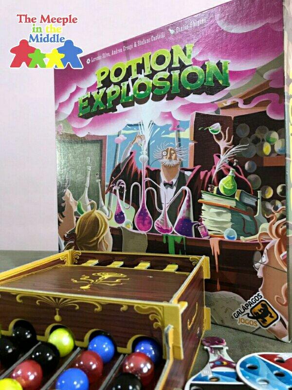 Jogo de tabuleiro Potion Explosion