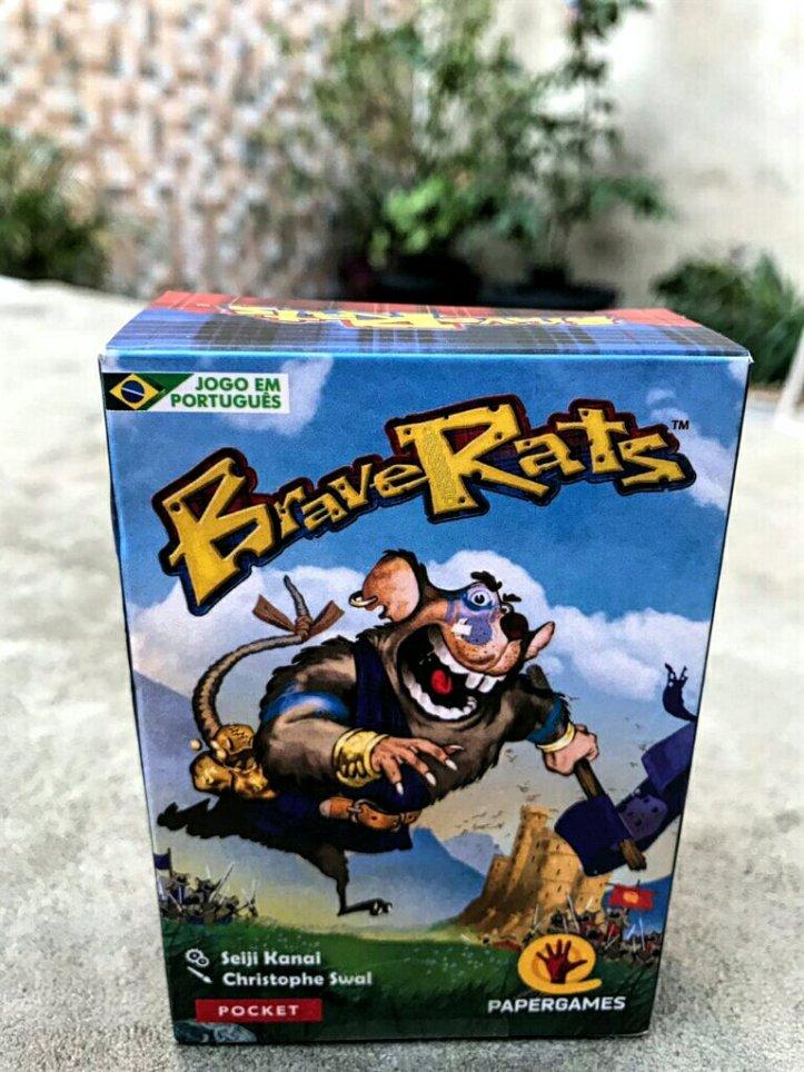 Caixa do jogo de cartas BraveRats