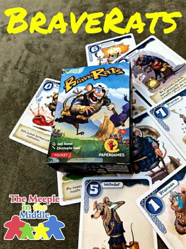 Jogo de cartas BraveRats