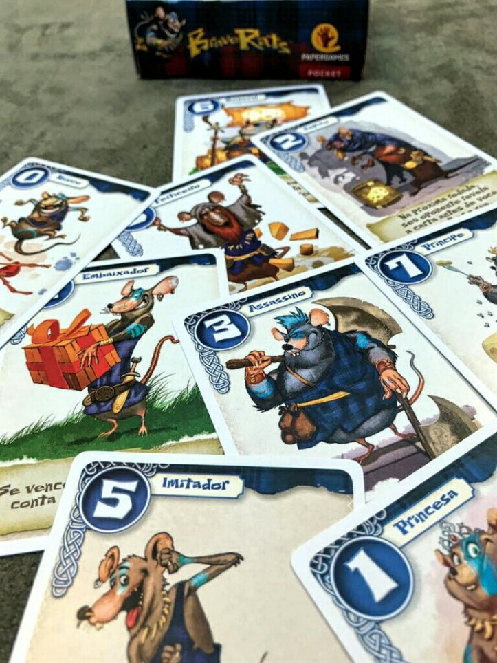 Cartas do clã Applewoods do jogo BraveRats