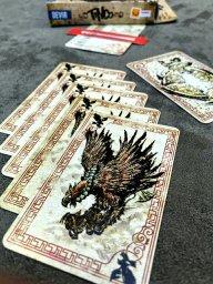 Conjunto de 5 cartas iguais do jogo Tinco