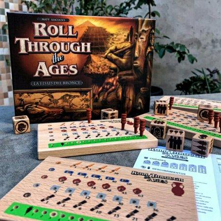 Jogo de tabuleiro Roll Through the Ages