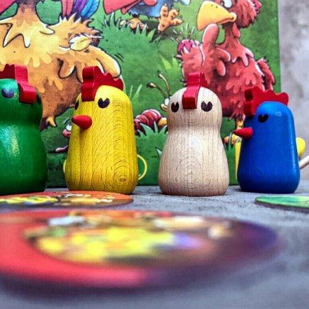 Jogo de tabuleiro Cocoricó Cocorocó